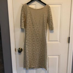 Beautiful Banana Republic Lace Dress, sz 6 T